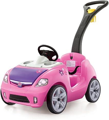Step2 Whisper Ride II Ride On Push Car Pink for Kids Toddler Girls Toys