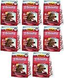 Zukes Z-Bones Edible Dental Chews Large Cherry Berry 7.5lb (8x15oz), My Pet Supplies