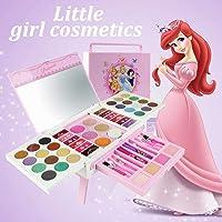 Portable Make Up Box Set Toy 56pcs Kid Disney Cosmetic Case Beauty Kit Girl Gift