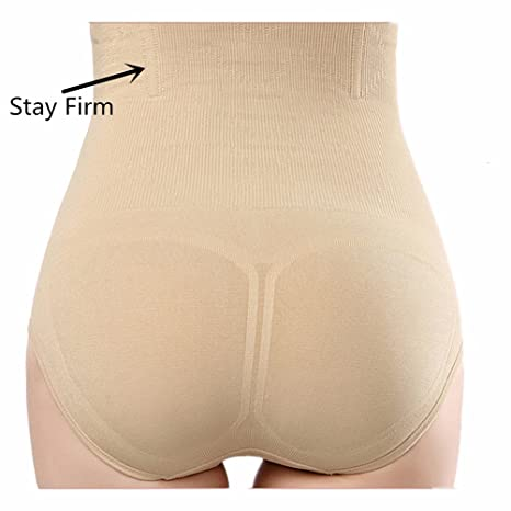 43a31191ba4 Women s High Waist Seamless Trainer Shaper Thong Panties For Women Tummy  Control Hipster Shapewear at Amazon Women s Clothing store