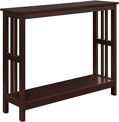 Convenience Concepts Mission Console Table, Espresso