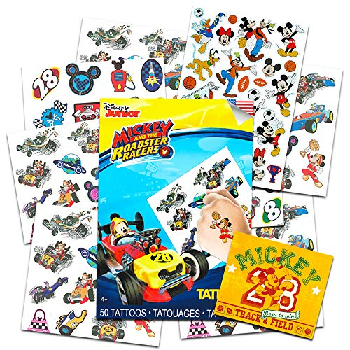 Mickeys Clubhouse Temporary Tattoo Book Party Accessory (Mickey Mouse Temporary Tattoos)