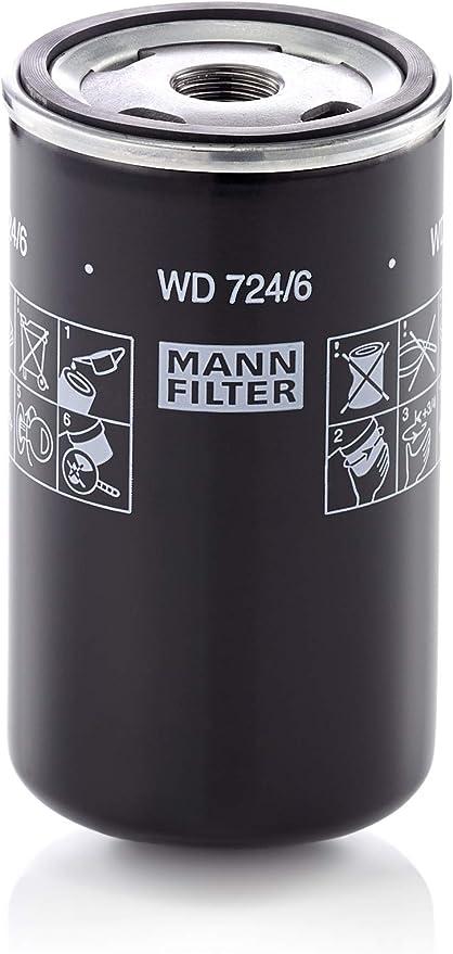 Original Mann Filter Ölfilter Wd 724 6 Hydraulikfilter Für Nutzfahrzeuge Auto