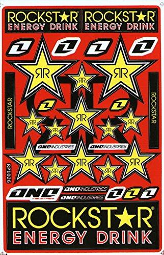 Rockstar Energy Sticker Car Racing Motorcross Decal Motorcycle Truck Graphic Logo Bicycle Bike Stickers