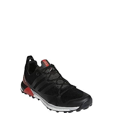 adidas outdoor Mens Terrex Agravic Shoe (6 - Black/Carbon/Hi-Res