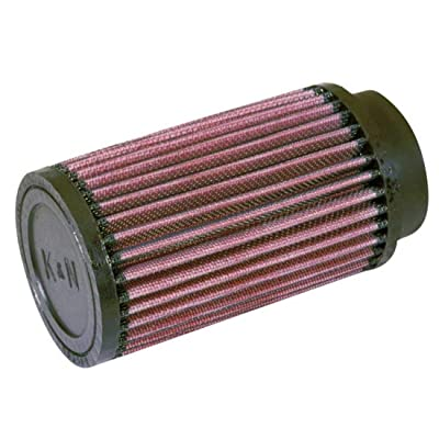 K&N Universal Clamp-On Air Filter: High Performance, Premium, Washable, Replacement Engine Filter: Flange Diameter: 2.5 In, Filter Height: 6 In, Flange Length: 0.625 In, Shape: Round, RD-0720: Automotive