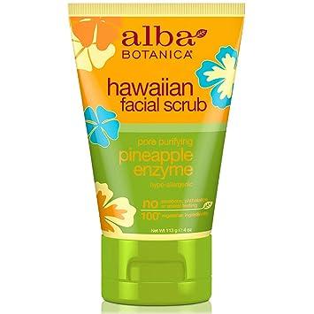Pack de 5 x Alba Botanica Hawaiana Piña Enzimas Exfoliante Facial ...