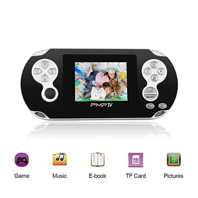 Amazon.es: Rongyuxuan Consola de Juegos portátil, Consola de Juegos Retro de 3