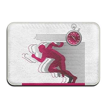 Amazoncom Qbeir Home Door Mat Fitness Run Doormat Door Mats