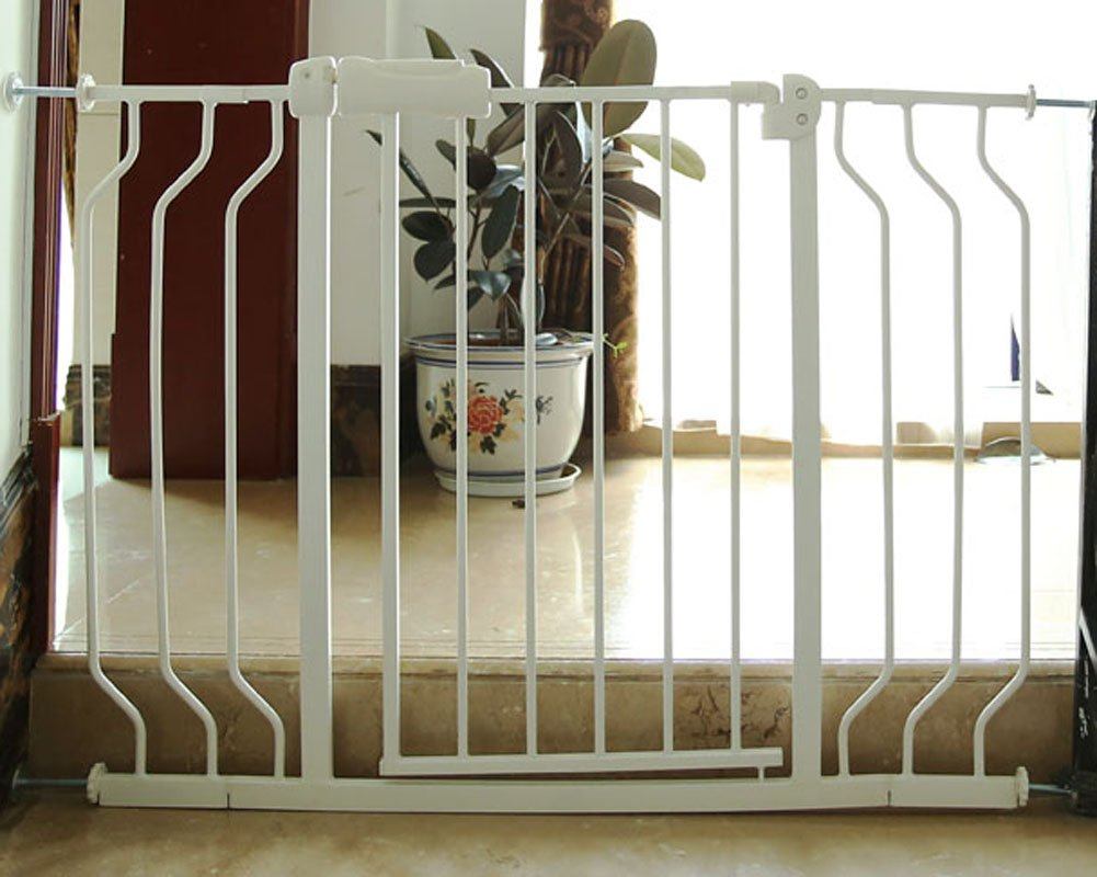 Fairy Baby Narrow Baby Gate for Stairs Walk Through Easy Auto Close White Child Safety Gate,Fits Spaces Between 48.0'' and 52.75'' Wide,White (3-7 Days delivery)) by Fairy Baby (Image #9)