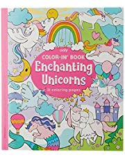 Ooly Enchanting Unicorns Colouring Book,118-202