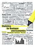 Statistics for Business and Economics Plus MyStatLab, Newbold, Paul and Carlson, William, 0132930196