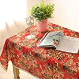 Japanese modern Style Cotton Linen Dining Decoration Tablecloth Multi Functional Wear Resistant Table Cloth Table Cover Protector For Home Party Picnic Outdoor by ZSL