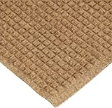 Andersen 250 WaterHog Drainable Polypropylene Entrance Outdoor Floor Mat, 10' Length x 3' Width, Camel