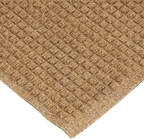 Andersen 250 WaterHog Drainable Polypropylene Entrance Outdoor Floor Mat, 10' Length x 3' Width, Camel by The Andersen Company
