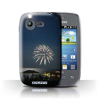 4b3014d40b6 Carcasa/Funda STUFF4 dura para el Samsung Galaxy Pocket Neo/S5310 / serie: