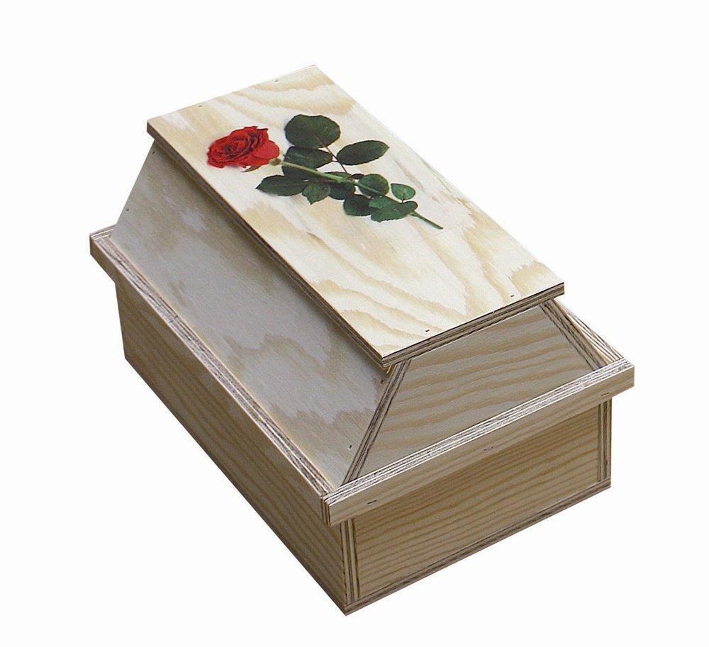Elmato 10170 - Cercueil pour animal - En 2 parties - Contreplaqué