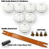 Dr.Speedometer GM Stepper Motor Repair Kit X27 168 - (7 Motor Kit) Fits All 03-06 Chevy Silverados, Tahoes, Yukons, Suburbans +