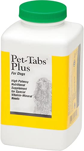 Pet-Tabs PLUS for Dogs 60 ct by Pfizer