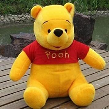 312ed20bcc9 Buy  ALPHA Soft Toys Stuff Toys Pooh Bear Orange (Small) Online at Low  Prices in India - Amazon.in