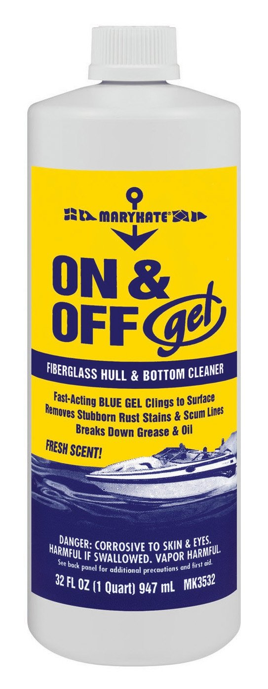 Amazon.com : MaryKate On and Off Gel Hull 1-Quart Cleaner : Sports &  Outdoors