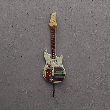 Joeesun 2pcs / Creative Guitarra de madera Decoración Ganchos ...
