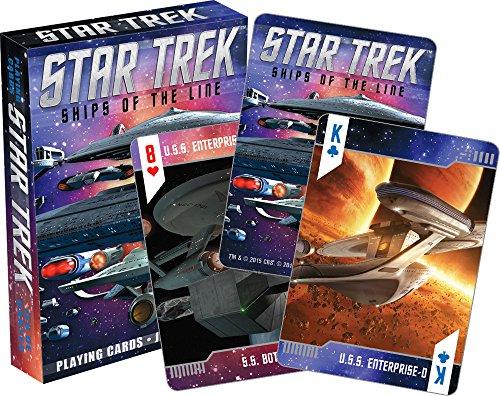 Aquarius Star Trek Ships of The Line Playing Cards ()