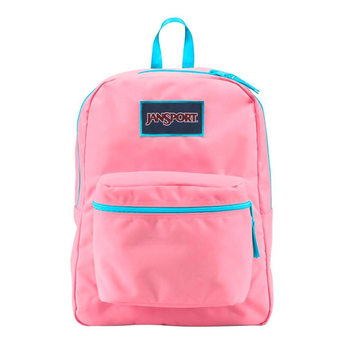 Galleon - JanSport Women s Overexposed Pink Pansy Mammoth Blue Backpack 77cc510a6cff8