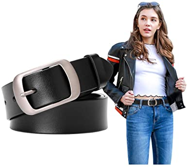 Pink Measuring Tape Style Durable Synthetic Leather New Fashion Belts for Ladies