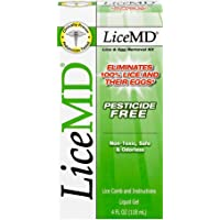 LiceMD Head Lice Treatment Kit, 4 oz