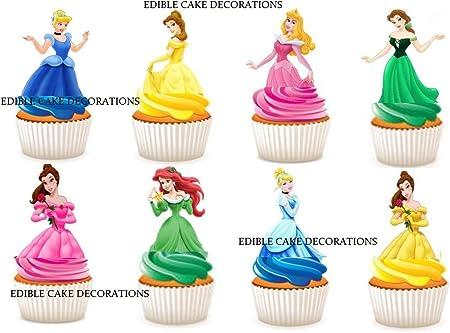 Lot De 30 Decorations En Papier Comestible Pour Cupcakes Et