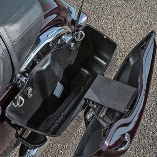 TCMT One Touch Opening Saddlebag Latch Lids Hardware Cover Kit Fits For Harley 2014-2018