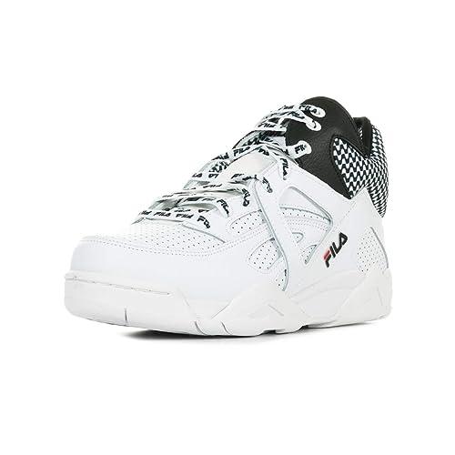 Fila Scarpe da Donna Sneakers Cage CB Mid Wmn in Pelle Bianca 1010614-00E