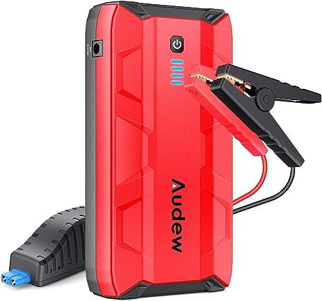 Amazon.com: Audew - Arrancador portátil de 1000 A para coche ...