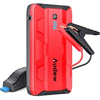 $59 » Audew 1000A Peak Portable Car Jump Starter (Up to 6.0L Gas or 4.5L Diesel Engine) Auto Battery…