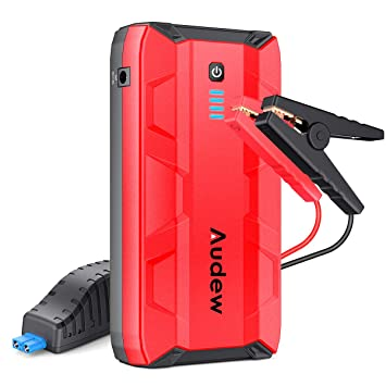 Car Jump Pack >> Audew 1000a Peak Car Jump Starter Up To 8 0l Gas Or 5 0l Diesel Engine Portable Jump Pack Auto Battery Booster 12v Car Jumper With Dual Usb Ports