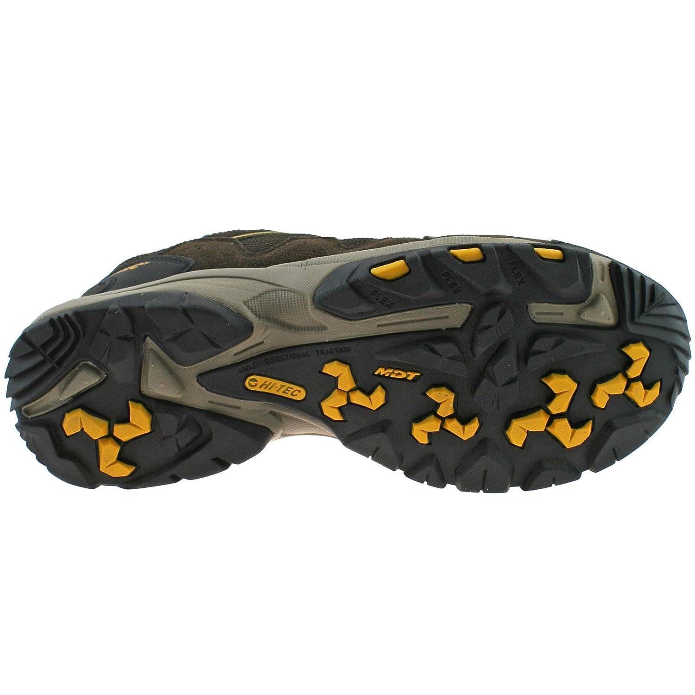 Hi-Tec Mens Mens Mens Rambler WP DK Chocolate Gold Waterproof Walking Hiking schuhe -UK 8 (EU 42) 879bae