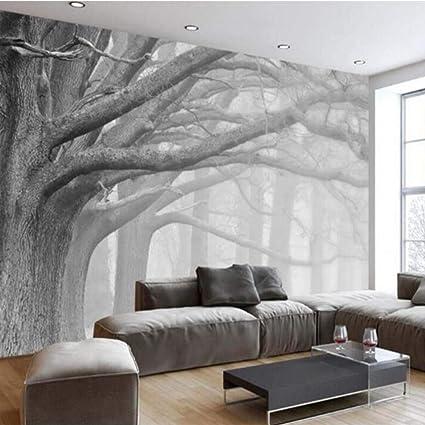 Amazon.com: BIZHIHNK Canvas Wallpaper Living Room Bedroom ...
