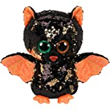 "2019 Halloween TY 6/"" Flippables GLINT the Spider Beanie Boos Sequin Plush MWMTs"