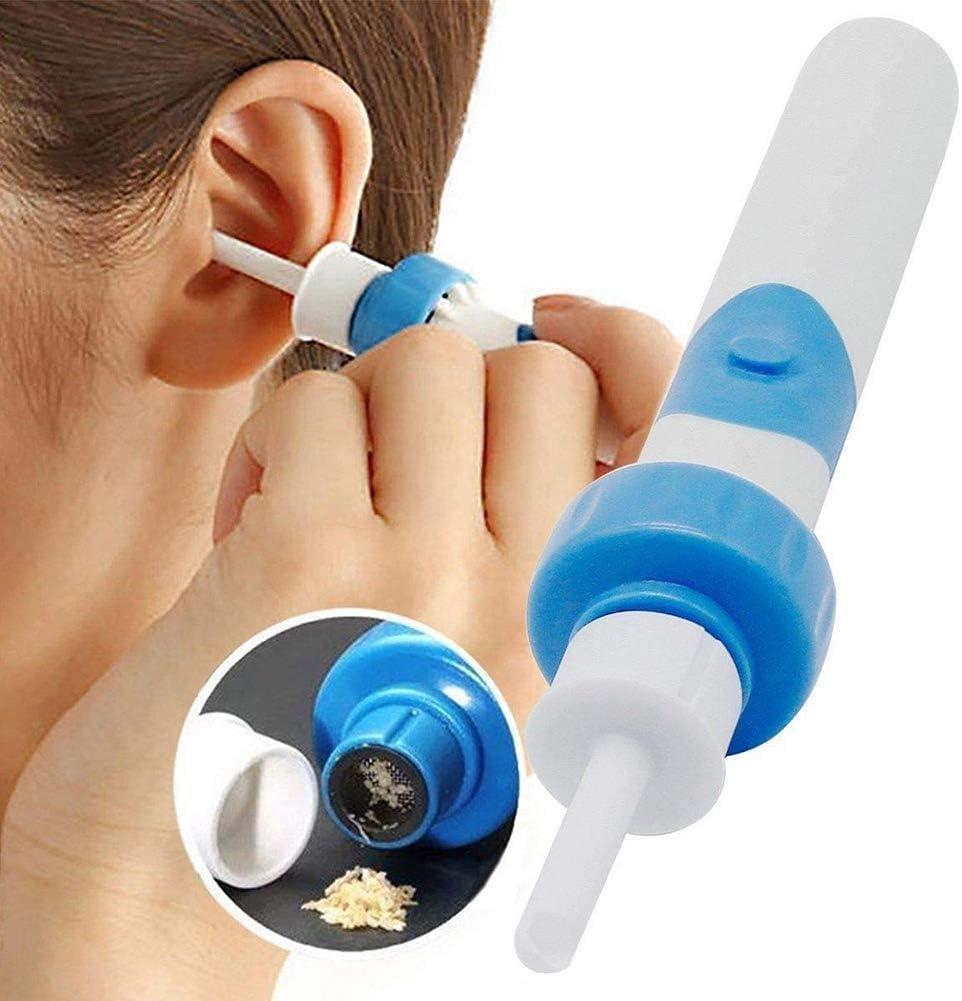 Ohrenreiniger Zhuowei Ohrenschmalz-Entferner Jugendliche Erwachsene Easy Earwax Removal Cleaner f/ür den Heimgebrauch f/ür Kleinkinder Babys,Wei/ß Ohrenschmalz-Reiniger