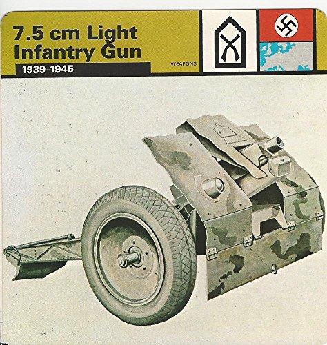 1977 Edito-Service, World War II, 41.21 7.5 cm Light Infantry -