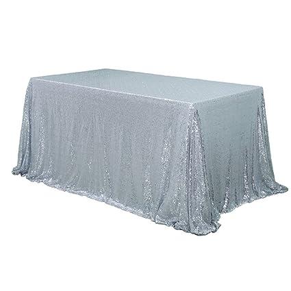 TRLYC Brillante Plata. Elegir su tamaño, 3 ft-10ft Brillante Plata ...