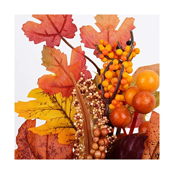 Sunm-boutique-2-Pcs-Artificial-Maple-Leaf-Garland-Hanging-Fall-Leave-Vines-Hanging-Plants-for-Indoor-Outdoor-Autumn-Wedding-Door-Fireplace-Thanksgiving-Festival-Dinner-Party
