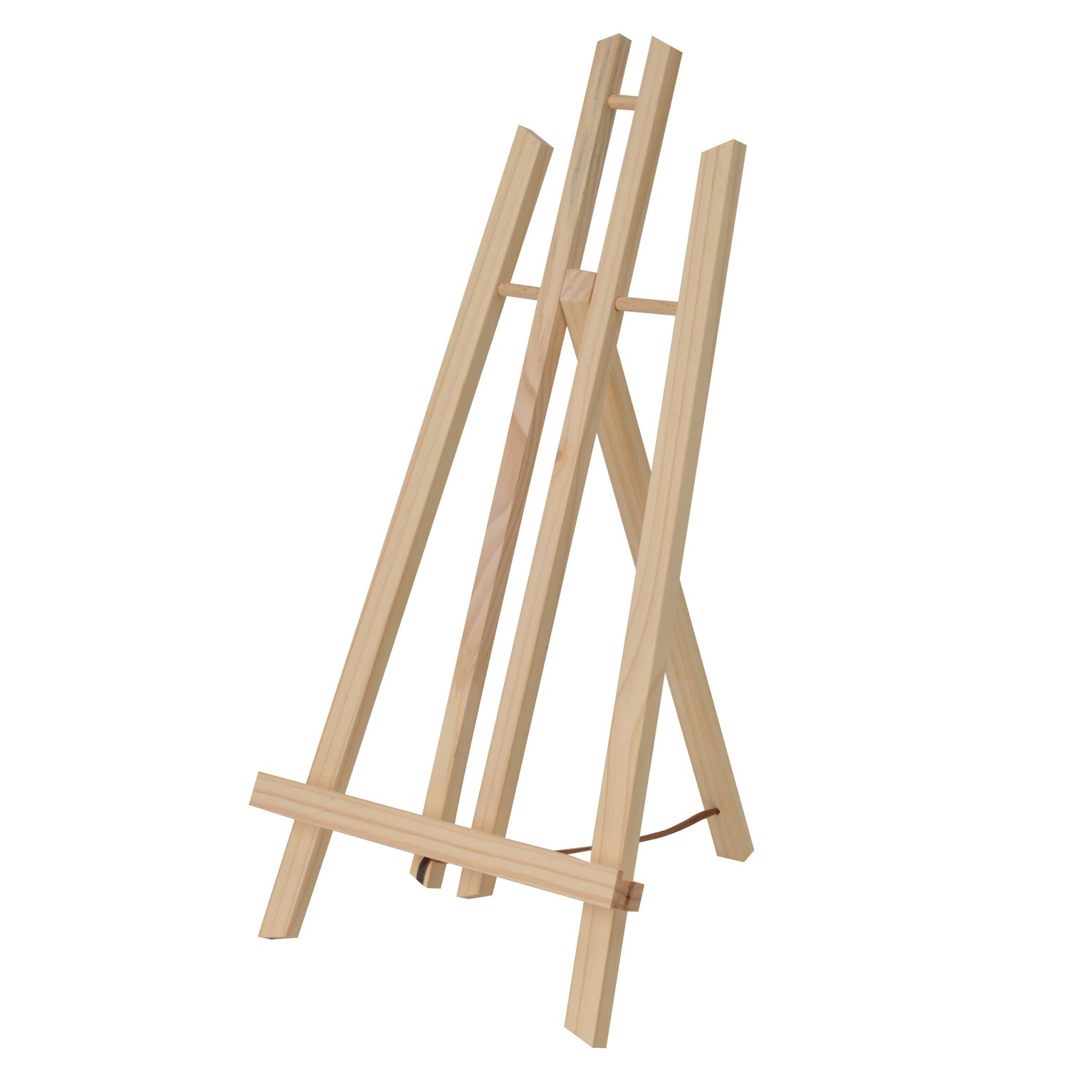 Artina Display Easel London - Pine-Wood Table Easel - Oil Paint Art Set - incl. Brushes. Spatulas and Canvases