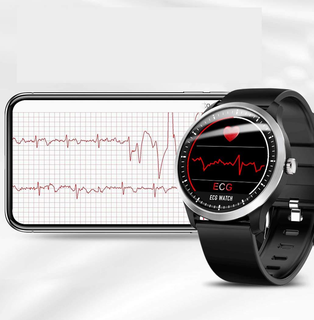 Inteligente Reloj Deportivo ECG + PPG Pulsera HRV Informe ...
