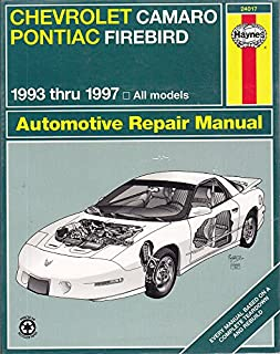 gm camaro and firebird 1993 2002 haynes repair manuals chilton rh amazon com Tiffany Helm Levon Helm