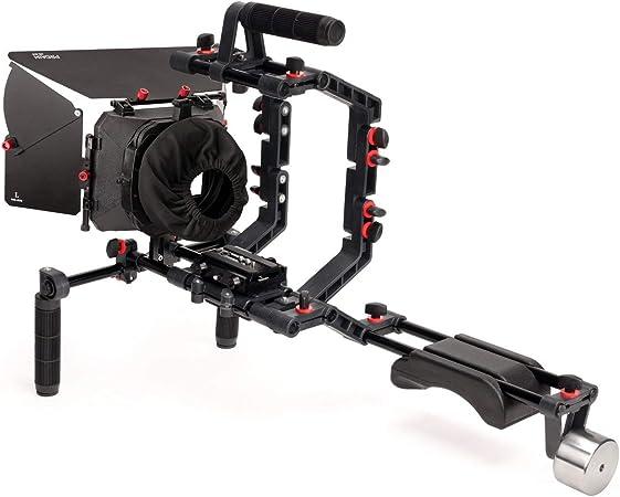 Filmcity Schulterstütze Mount Rig Kit Mit Kamera Cage Kamera