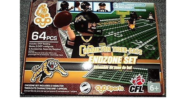 Hamilton Tiger Cats OYO CFL Endzone Set