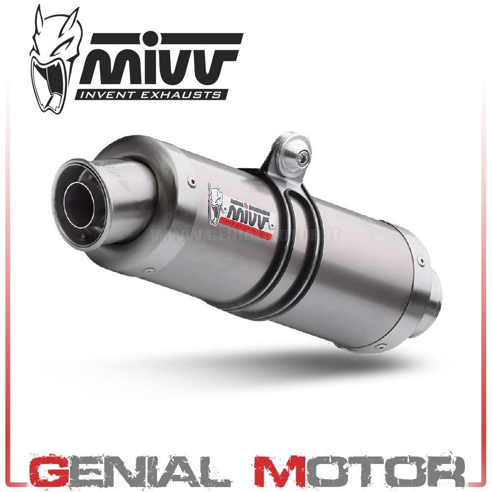 S.004.L6S Pot D Echappament MIVV GP Titane pour Sv 650 2001 01