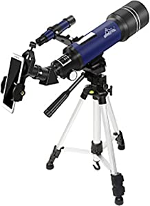 Telescopes for Adults Astronomy Professional, 70mm Aperture Telescope with Tripod, Astronomical Refracting Telescope, Travel Telescope with 2 Magnification Eyepieces, Astronomy Beginners Gifts